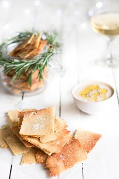 Christmas Recipe Countdown Day 9: Rosemary and Sea Salt Grain Free Crackers - Vanessa Vickery | Becomingness | Say Yes to Your Health