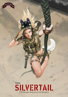 ArtStation - US ARMY 75th RANGER, Yoonsik Kim