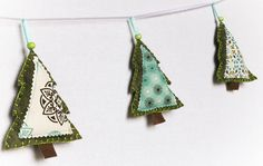 Tree Shaped Ornaments By stitchinnetka @Tony Wang: Photo taken on 19 Oct 2011 (No other information.)