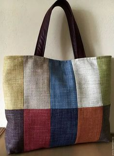 Quilted Tote Bags, Patchwork Bags, Canvas Tote Bags, Reusable Tote Bags, Dog Sling, Jute Bags, Bag Patterns To Sew, Denim Bag, Fabric Bags