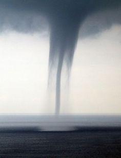 A tornado raged through our town...