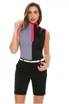 Annika Women's Trellis Black Sage Golf Short
