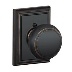 View The Schlage F10 And Add Passage Andover Door Knobset