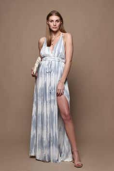 ee0268227cec7 Summer Fling Formal Boho Maxi Dress. Women s Fashion DressesNecklineLadies  ...