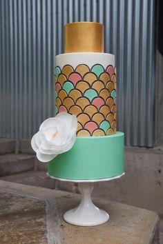 Modern cake by Craftsy instructor Jessica Harris