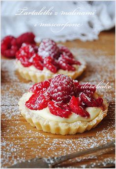 Polish Desserts, Polish Recipes, Mini Desserts, Healthy Desserts, Delicious Desserts, Dessert Recipes, Sweets Cake, Dessert Bread, No Bake Cake