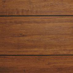 Strand Woven Distressed Dark Honey 1/2 in. T x Multi Width x 72 in. L Click Lock Bamboo Flooring (21.86 sq. ft. / case)