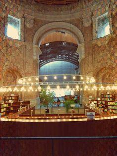 Library, Escuelas Pias, Madrid