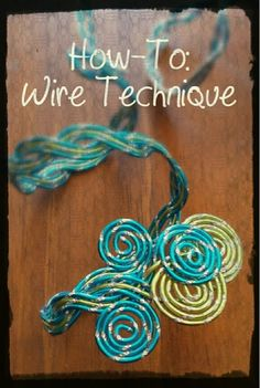 How To: Wire Technique (by Doug Bates CFD). Trying out new desings with Oasis decorative wire. Great for Corsages, armbands, boutonnieres.. whatever! Let your imagination go!