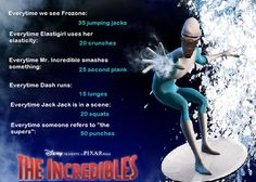 The Incredibles Movie Workout