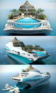 An island yacht! Yes please An island yacht! Yes please An island yacht! Yes please Super Yachts, Dream Vacations, Vacation Spots, Cruise Vacation, Vacation Destinations, Yacht Party, Beach Resorts, Oh The Places You'll Go, My Dream Home
