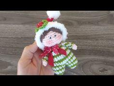Elfo Amigurumi Uncinetto Tutorial Natale 🎄 Elf Crochet Christmas 🎁 Elfo Crochet Amigurumi - YouTube Christmas Elf, Christmas Projects, Crochet Christmas, Christmas Ornaments, Amigurumi Tutorial, Learn To Crochet, Beautiful Crochet, Crotchet, Knit Patterns