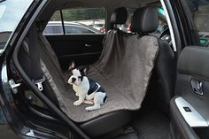 Pettom Dog Car Seat Covers with New Non-slip Backing- Machine Washable and Waterproof -- Awesome product. Click the image (This is an amazon affiliate link. I may earn commission from it)