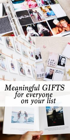 Great gift ideas that ANYone you gift them to will appreciate and hold on to.