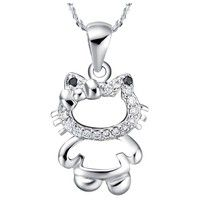 I think you'll like Art. SCN-613  18K White Gold Plated Necklace. Add it to your wishlist!  http://www.wish.com/c/52f3d40534067e0e5035a3ba
