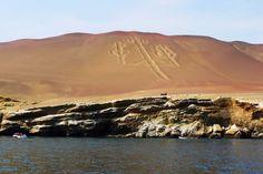 Wyspy Ballestas i pierwsze zetknięcie z geoglifami #Nazca