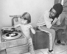 """vinylespassion:  Peter Tosh  child  """