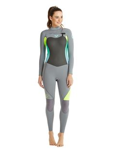 1a8f9d15a3 Shop at Wetsuit Wearhouse for the Women s Roxy SYNCRO Chest Zip Fullsuit.