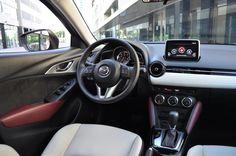 Avec le CX-3, Mazda se lance sur le très convoité créneau des petits crossovers…