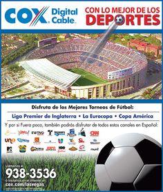 Las Vegas Review Journal, Liga Premier, Soccer Ball, America's Cup, Sports, European Football, European Soccer, Soccer, Futbol