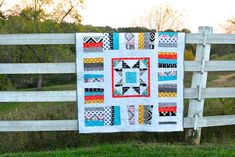 Park Blanket Revamp in Four Corners Fabric | Craft Buds