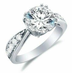 Argent Sterling 925 Zircone cubique Eternity ronde anniversaire Women/'s Wedding Band Ring 4-10