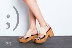 Sale 50% off Platform sandals Women ankle strap by ImeldaShoes