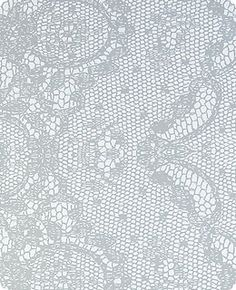 Lace wallpaper from Flavor Paper.