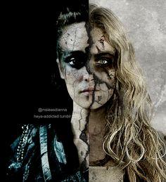Clarke & Lexa - Heda vs Wanheda