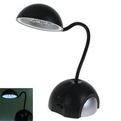 $5.39 HK-L3020 High Brightness USB Desk Lamp - 15 LEDs Black Lamps, Ergonomic Mouse, Desk Lamp, Computer Mouse, Usb, Pc Mouse, Mice
