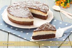Torta+cremosa+al+cocco+e+cioccolato