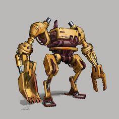 Industrial Bot by Docslav---GE on deviantART