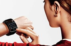 Pin for Later: This New Smartwatch Can Replace Your Smartphone  Reply to messages with a full onscreen keyboard, or use your voice to dictate. Source: Samsung