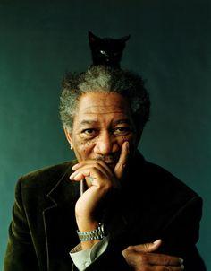 Morgan Freeman, photo Peggy Sirota