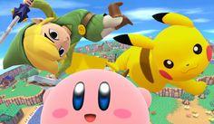 Main page for Super Smash Bros. for Nintendo 3DS / Wii U and Toon Link. © 2014 Nintendo Original Game: © Nintendo / HAL Laboratory, Inc. Characters: © Nintendo / HAL Laboratory, Inc. / Pokémon. / Creatures Inc. / GAME FREAK inc. / SHIGESATO ITOI / APE inc. / INTELLIGENT SYSTEMS / SEGA / CAPCOM CO., LTD. / BANDAI NAMCO Games Inc. / MONOLITHSOFT / CAPCOM U.S.A., INC. / SQUARE ENIX CO., LTD.