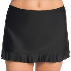 ST. JOHN'S BAY St. John's Bay Ruffle Skirt Swimsuit Bottom