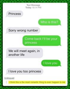"""This person received a wrong number text for """"princess,"""" and the two quickly fell in love. 18 Wrong Number Texts That Will Melt Your Cold, Dead Heart Ft Tumblr, Tumblr Funny, Arctic Monkeys, Haha, Funny Quotes, Funny Memes, Hilarious Texts, Bad Memes, Epic Texts"""