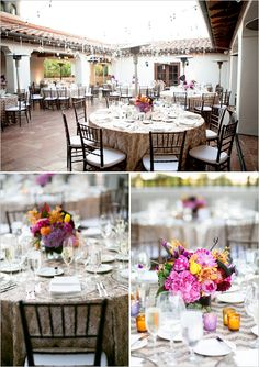 table decoration ideas from VP Events