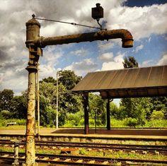 #Train station in #Braniewo looks like nobody is using it.