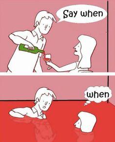Funny cartoon - Drinking wine - http://www.jokideo.com/funny-cartoon-drinking-wine/