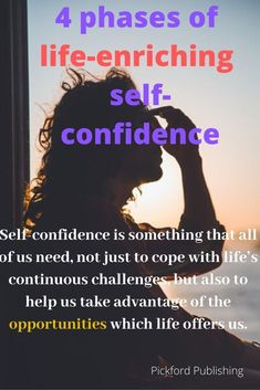 Self-confidence is something that all of us need if we are to cope in the face of life's continuous challenges. Lack Of Self Confidence, Building Self Confidence, Feeling Inadequate, Self Compassion, Self Improvement Tips, Successful People, Best Self, Self Esteem, Gain