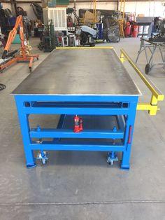Welding Bench, Welding Cart, Welding Shop, Diy Welding, Metal Welding, Welding Flux, Metal Projects, Welding Projects, Welding Ideas
