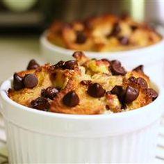 Chocolate Banana Bread Pudding Allrecipes.com