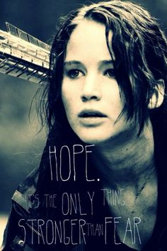 another great quote from the hunger games....
