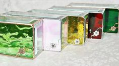 Handmade stained glass boxes for your bridesmaids or for a special occasion