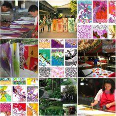 Zijden shawls van BonThai