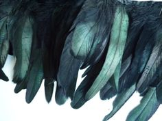 ROOSTER / COQUE FEATHERS Exclusive  Quality  /  Iridescent Black  /  680   / On Sale on Etsy, $5.75