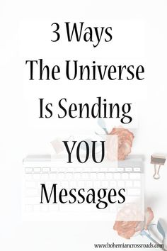 The universe sends us all messages...These were really interesting!