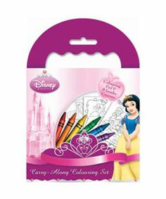 disney princess carry along colouring set colouring activity books kids arts - Disney Princess Art And Activity Collection