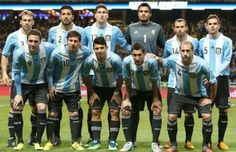 Argentina Squad for FIFA World Cup 2014